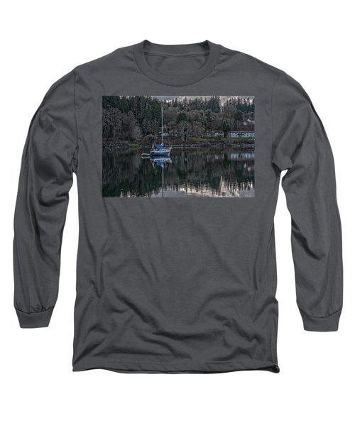 Long Sleeve T-Shirt featuring the photograph Tranquility 9 by Timothy Latta