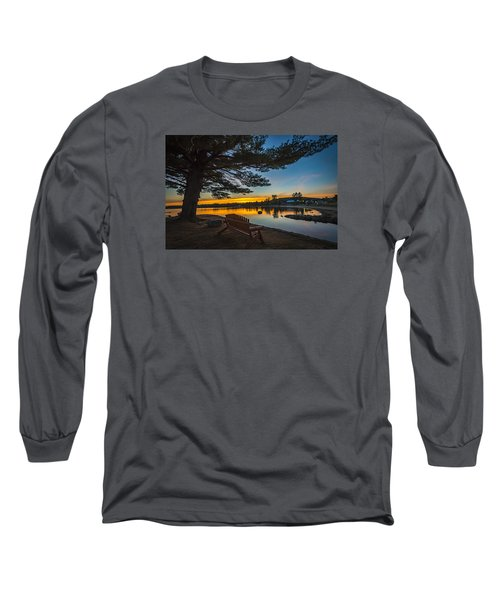 Tranquility At Sunset Long Sleeve T-Shirt