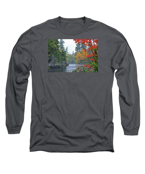 Long Sleeve T-Shirt featuring the photograph Autumn Tranquility by Glenn Gordon