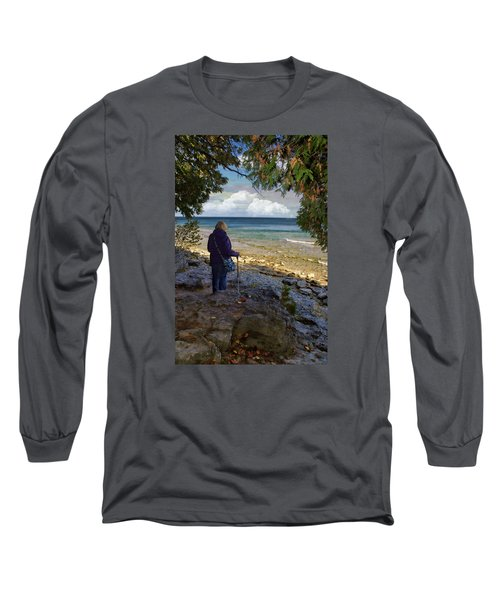 Long Sleeve T-Shirt featuring the photograph Tranquility by Judy Johnson