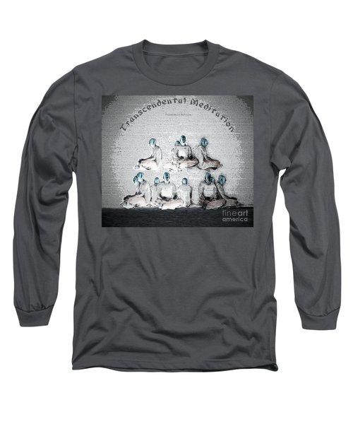Transcendental Meditation Long Sleeve T-Shirt