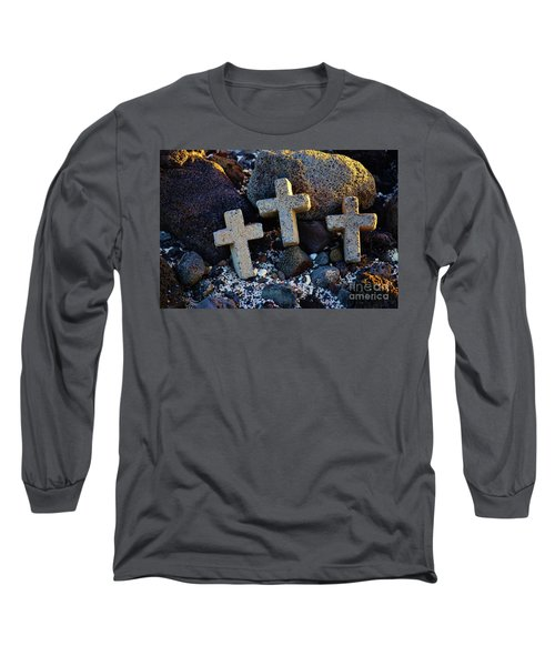 Transformed Beach Debris Long Sleeve T-Shirt by Craig Wood