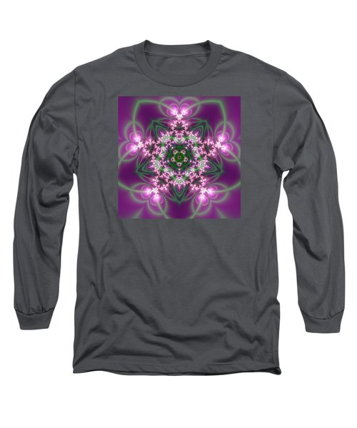 Transition Flower 5 Beats Long Sleeve T-Shirt by Robert Thalmeier