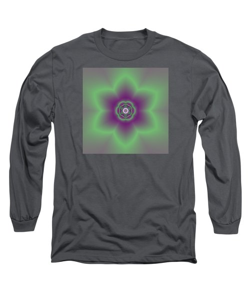 Transition Flower 6 Beats 2 Long Sleeve T-Shirt by Robert Thalmeier