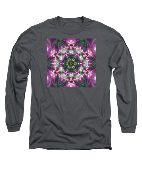 Transition Flower 6 Beats 4 Long Sleeve T-Shirt by Robert Thalmeier