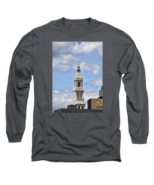 Travelers Tower In Hartford Connecticut Long Sleeve T-Shirt