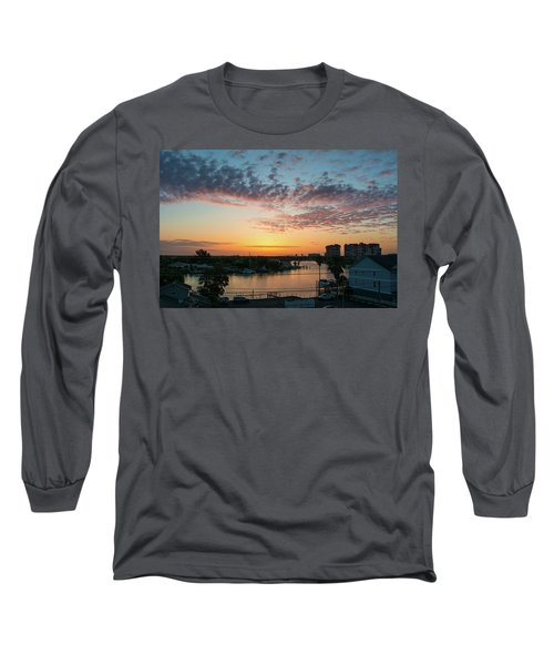 Treasure Island Sunrise Long Sleeve T-Shirt by RC Pics