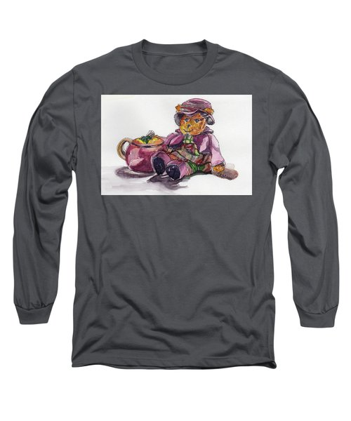 Treasures In Pink Long Sleeve T-Shirt