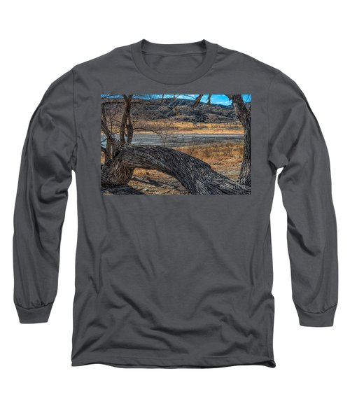 Tree At Elizabeth Lake Long Sleeve T-Shirt