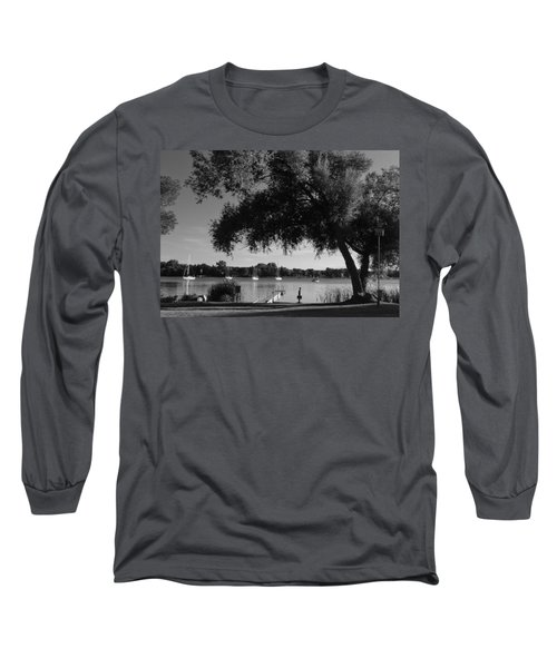 Tree At The Water Long Sleeve T-Shirt