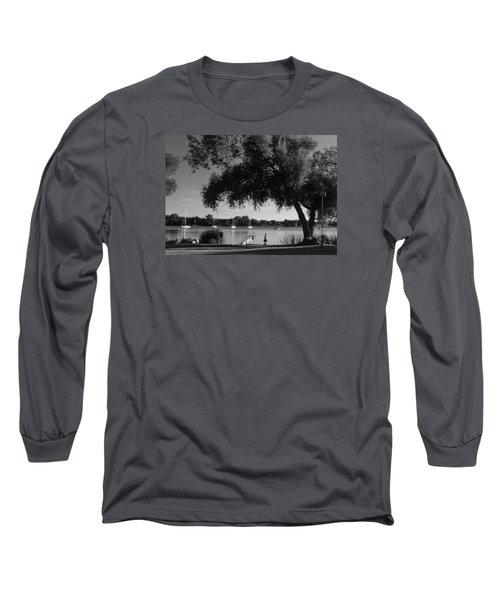 Tree At The Water Long Sleeve T-Shirt