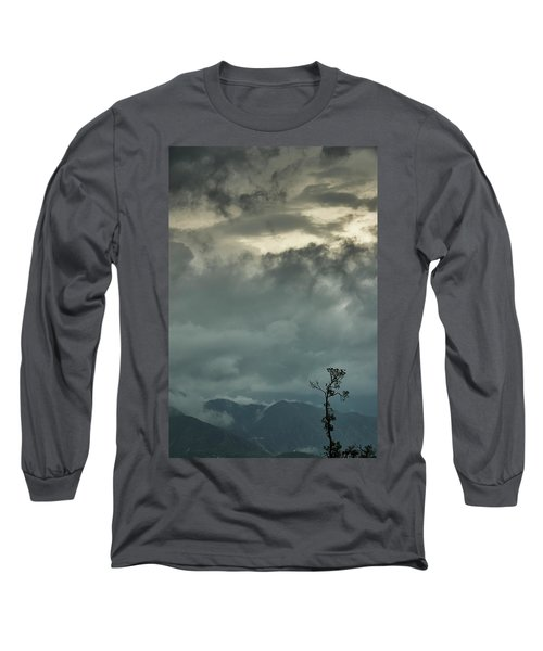Tree. Bright Light Long Sleeve T-Shirt
