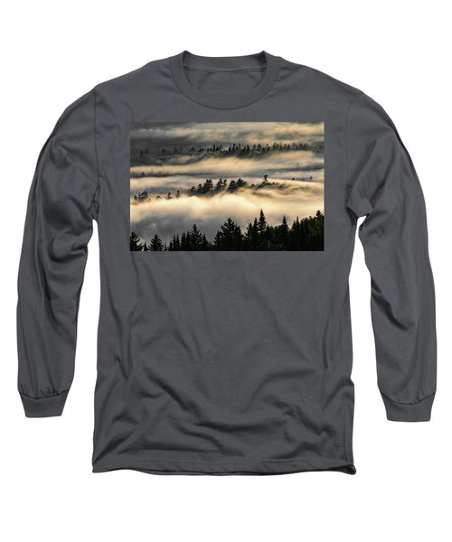 Trees In The Clouds Long Sleeve T-Shirt