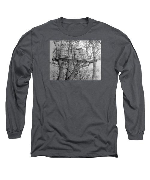 Tree House #4 Long Sleeve T-Shirt