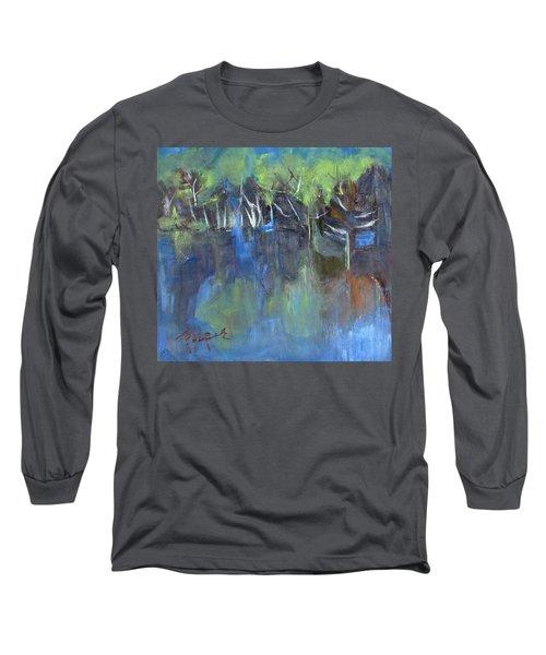 Tree Imagery Long Sleeve T-Shirt