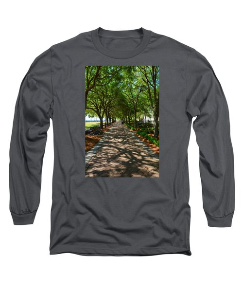 Tree Lined Path Long Sleeve T-Shirt