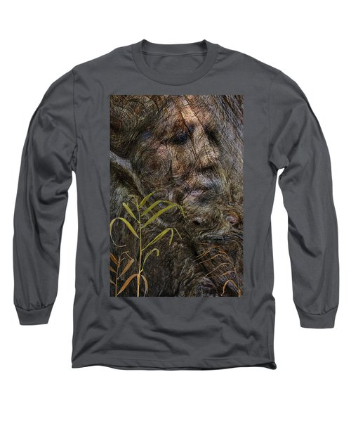 Long Sleeve T-Shirt featuring the photograph Tree Memories # 39 by Ed Hall