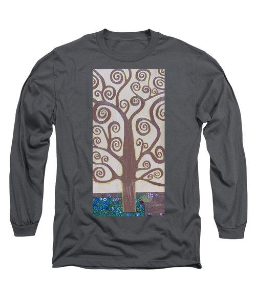 Tree Of Life Long Sleeve T-Shirt by Angelina Vick