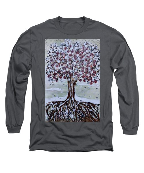 Tree Of Life - Winter Long Sleeve T-Shirt