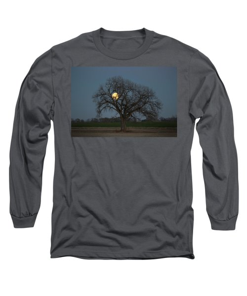 Tree Of Supermoon Long Sleeve T-Shirt