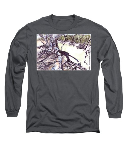 Tree Roots  Long Sleeve T-Shirt