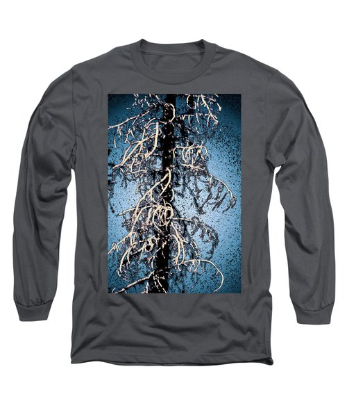 Long Sleeve T-Shirt featuring the photograph Black Tree by Yulia Kazansky