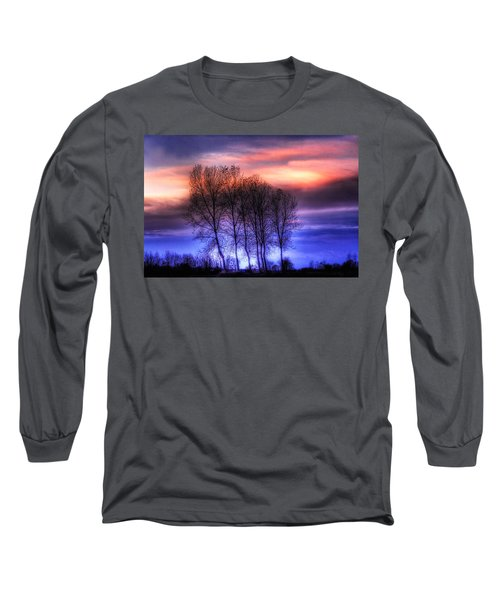 Trees And Twilight Long Sleeve T-Shirt