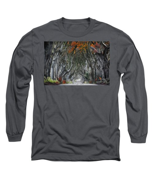 Trees Embracing Long Sleeve T-Shirt