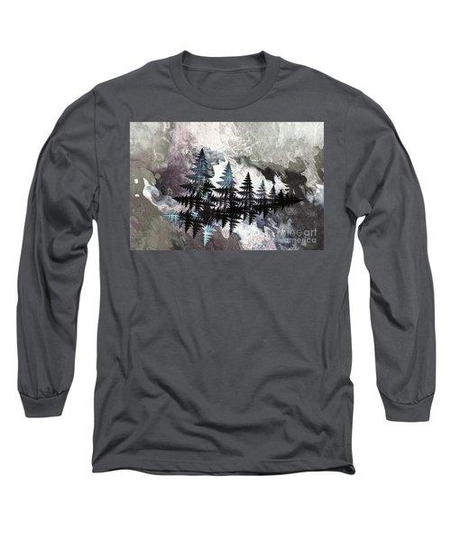 Trees Long Sleeve T-Shirt by Geraldine DeBoer