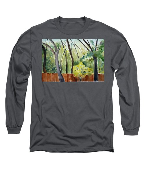 Trees1 Long Sleeve T-Shirt by Tom Simmons
