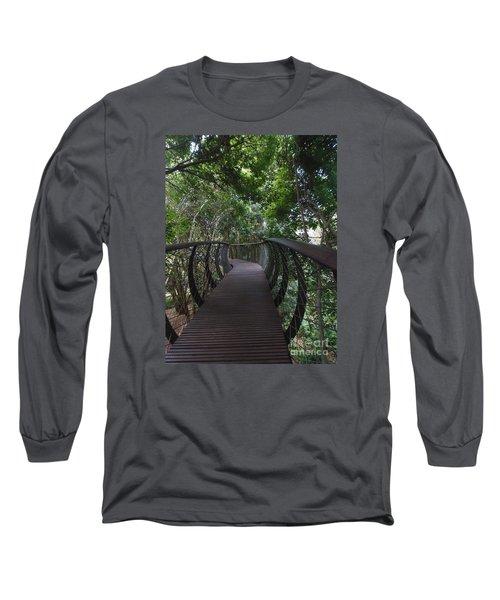 Treetop Canopy Walk Long Sleeve T-Shirt