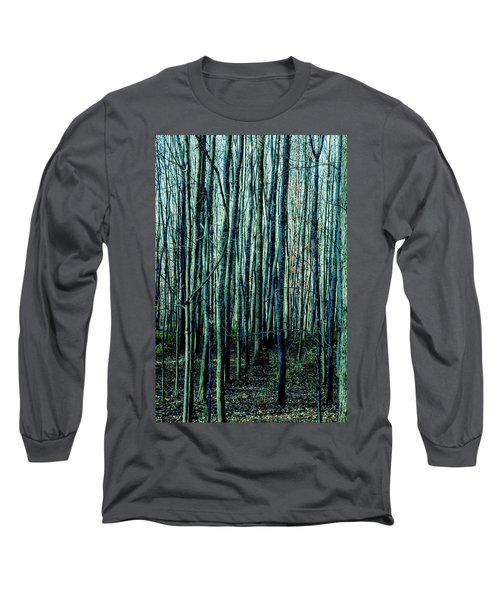 Treez Cyan Long Sleeve T-Shirt