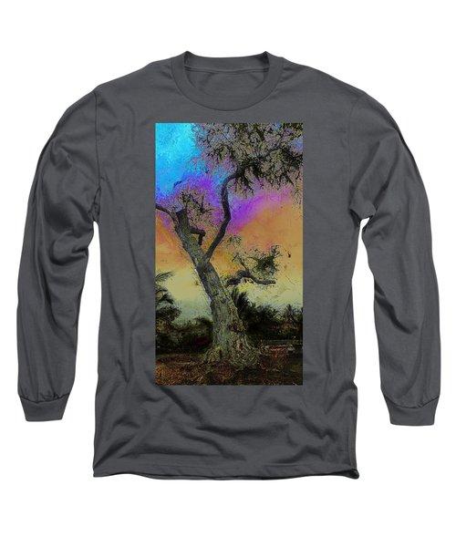 Long Sleeve T-Shirt featuring the photograph Trembling Tree by Lori Seaman