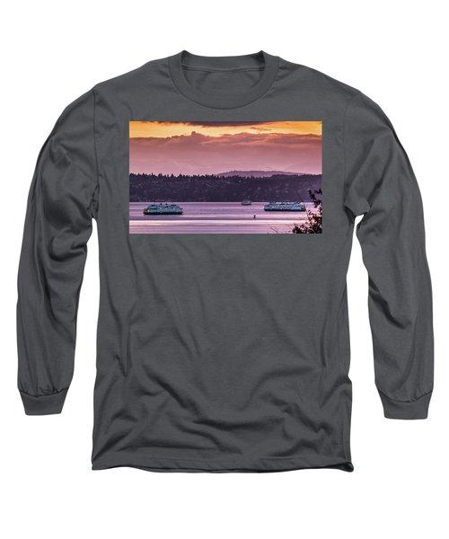 Triangle Ferry Run Long Sleeve T-Shirt