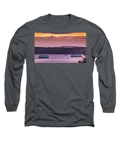 Triangle Ferry Run Long Sleeve T-Shirt