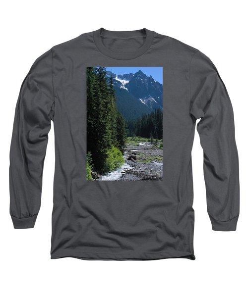 Trickling Long Sleeve T-Shirt by John Rossman