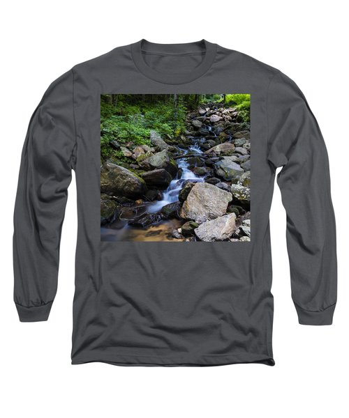 Trickling Mountain Brook Long Sleeve T-Shirt
