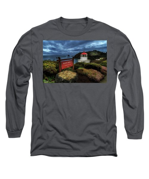Long Sleeve T-Shirt featuring the photograph Trinidad Memorial Lighthouse by James Eddy