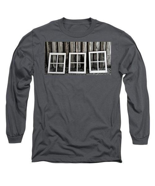 Long Sleeve T-Shirt featuring the photograph Trio by Brad Allen Fine Art