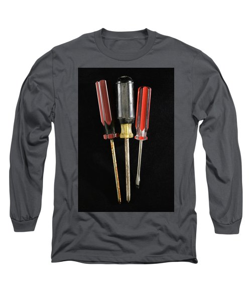 Trio Of Screwdrivers Long Sleeve T-Shirt