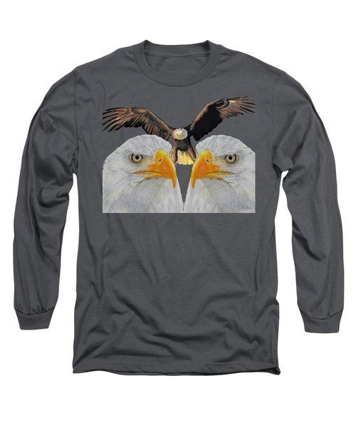 Triple Eagle Long Sleeve T-Shirt