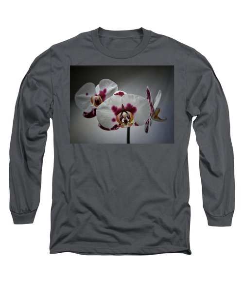 Long Sleeve T-Shirt featuring the photograph Triplets by Karen Stahlros
