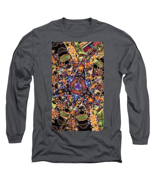 Tristar Long Sleeve T-Shirt by Ron Bissett