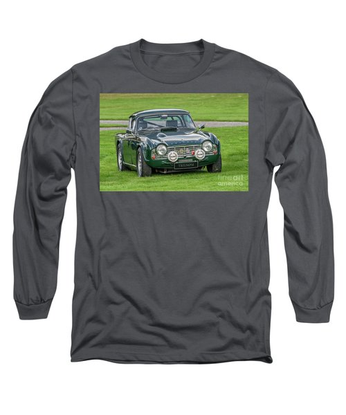 Triumph Sports Car Long Sleeve T-Shirt