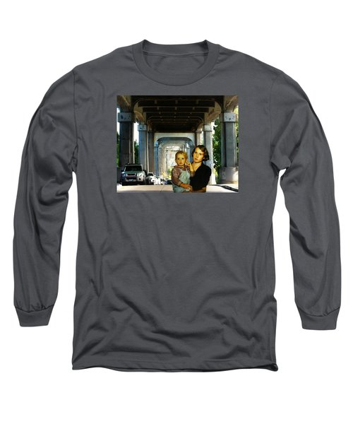 Long Sleeve T-Shirt featuring the photograph Troll Seekers by Timothy Bulone