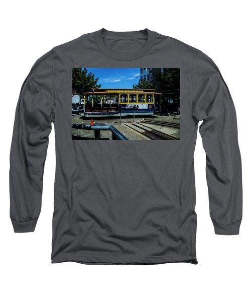 Trolley Car Turn Around Long Sleeve T-Shirt