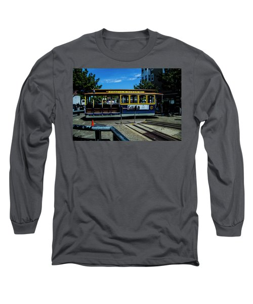 Trolley Car Turn Around Long Sleeve T-Shirt
