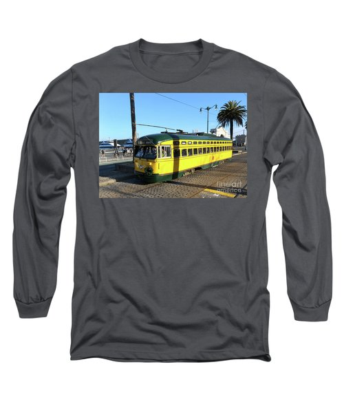 Long Sleeve T-Shirt featuring the photograph Trolley Number 1071 by Steven Spak