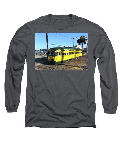 Trolley Number 1071 Long Sleeve T-Shirt by Steven Spak