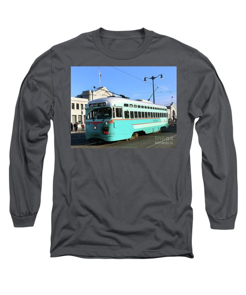 Long Sleeve T-Shirt featuring the photograph Trolley Number 1076 by Steven Spak